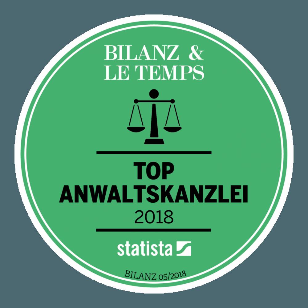 Top Anwaltskanzlei 2018