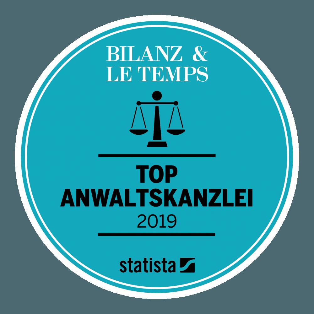 Top Anwaltskanzlei 2019